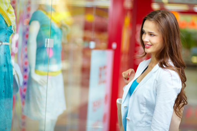 Cores das lojas influenciam no sucesso das vendas