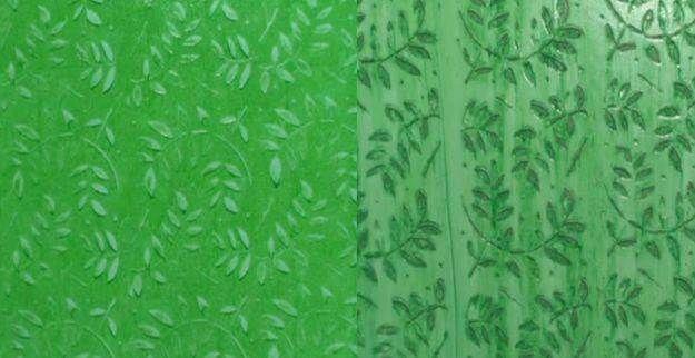 Rolo Textura Folhas Tok E Decore 18cm Outlet Das Tintas