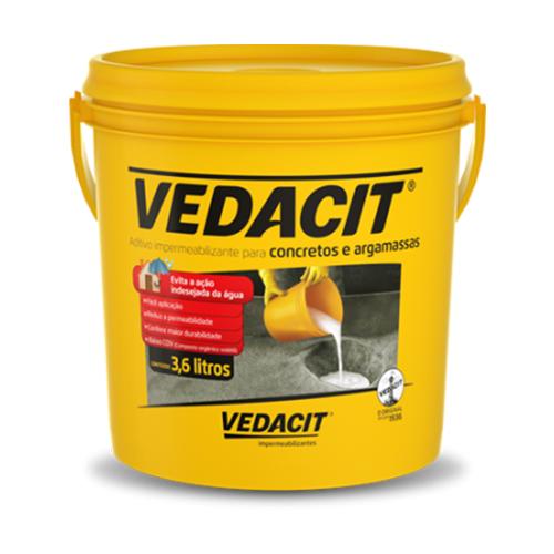 Indústria Artesanato Manufatura E Maquinofatura ~ Vedacit 3,6L Outlet das Tintas